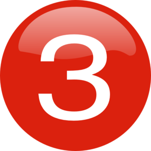 number-3-button-md