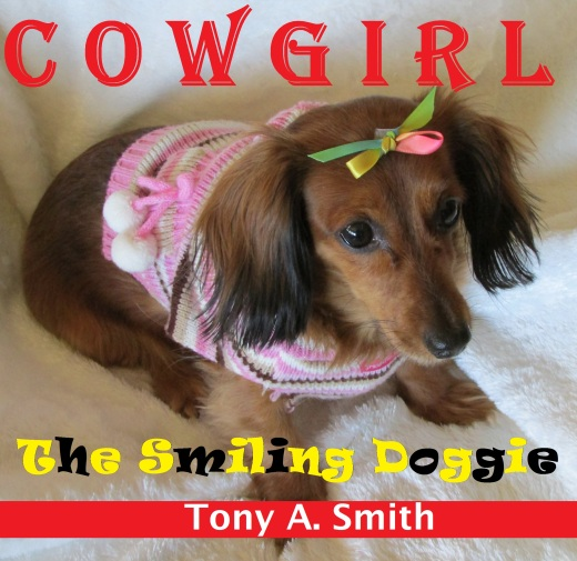 COWGIRL 1 26 15 BLACK YELLOW SMILING DOGGIE
