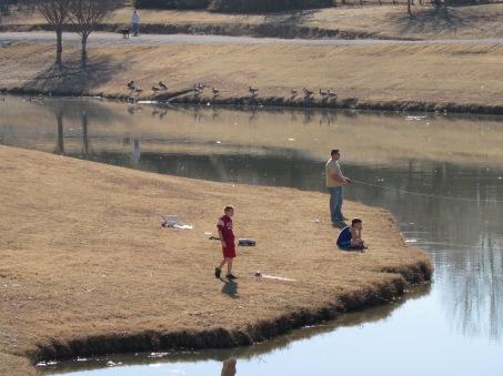 Fishing Time January 19, 2015 Broken Arrow, Oklahoma