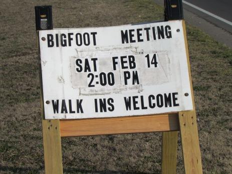 Bigfoot Meeting  Spiro, Oklahoma