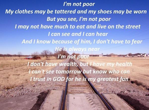 I'm Not Poor