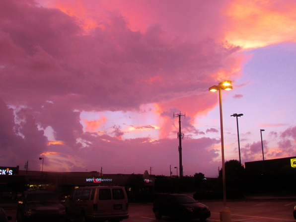 BROKEN ARROW OKLAHOMA JULY 22, 2015 AFTER RAIN