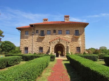 Marland Mansion Front Entry