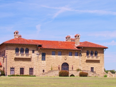 Marland Mansion Side View