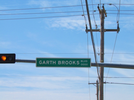 Garth Brooks Boulevard Formerly Highway 92