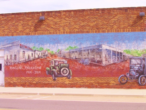 Ringling Oklahoma Mural