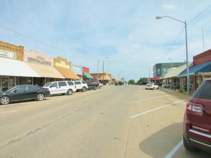 Ringling Oklahoma street scene
