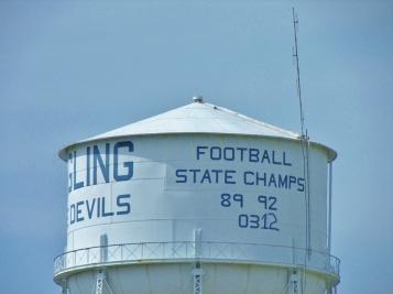 Ringling Oklahoma Water Tower