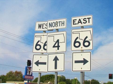 Route 66 Yukon Oklahoma