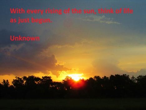 Sunrise Oklahoma