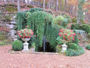 Eureka Springs First Spring Capped Off